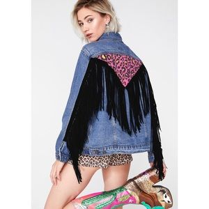 Roarin' Rockstar Denim Jacket